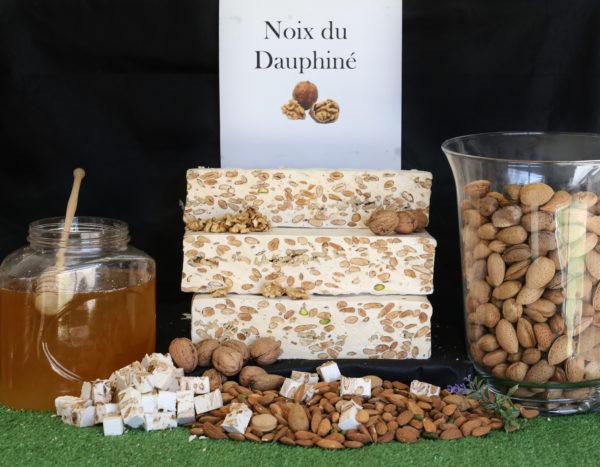 nougat_noix_dauphine_isere_laurmar_miel_lavande_igp_amande_provence