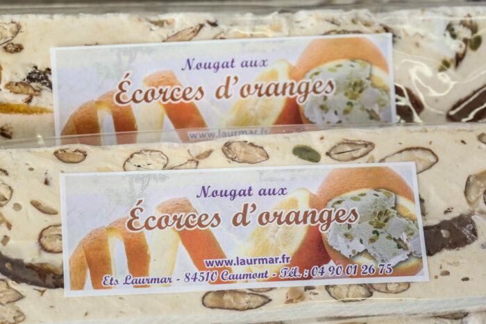 nougat_ecroce_orange_confite_apt_miel_lavande_igp_amande_provence - Meilleur nougat de qualité - prix nougat au kilo
