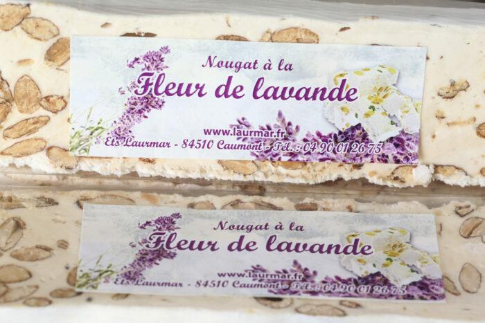 nougat_fleur_lavande_igp_miel_sault_amande_provence_laurmar
