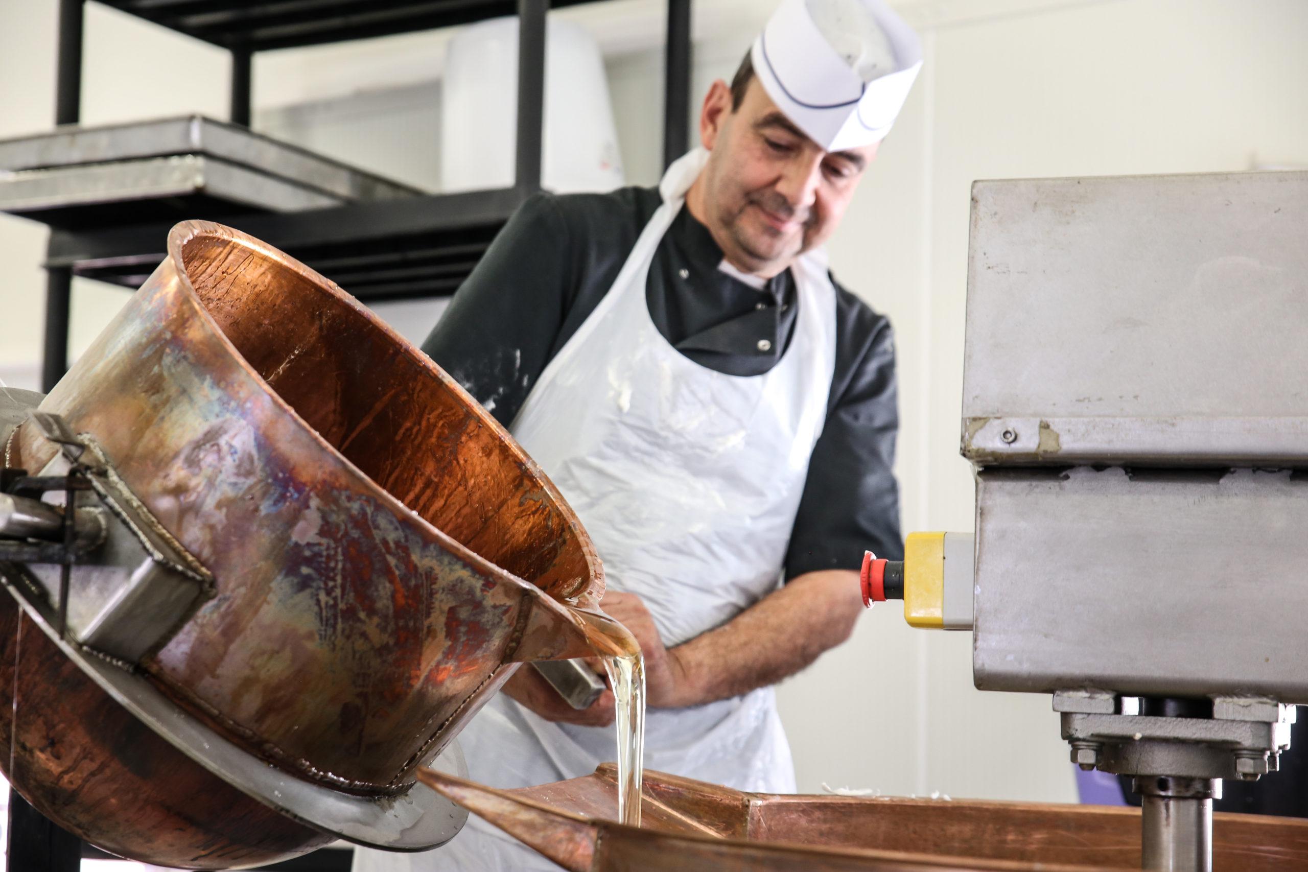 fabrication nougat maison provence amande miel