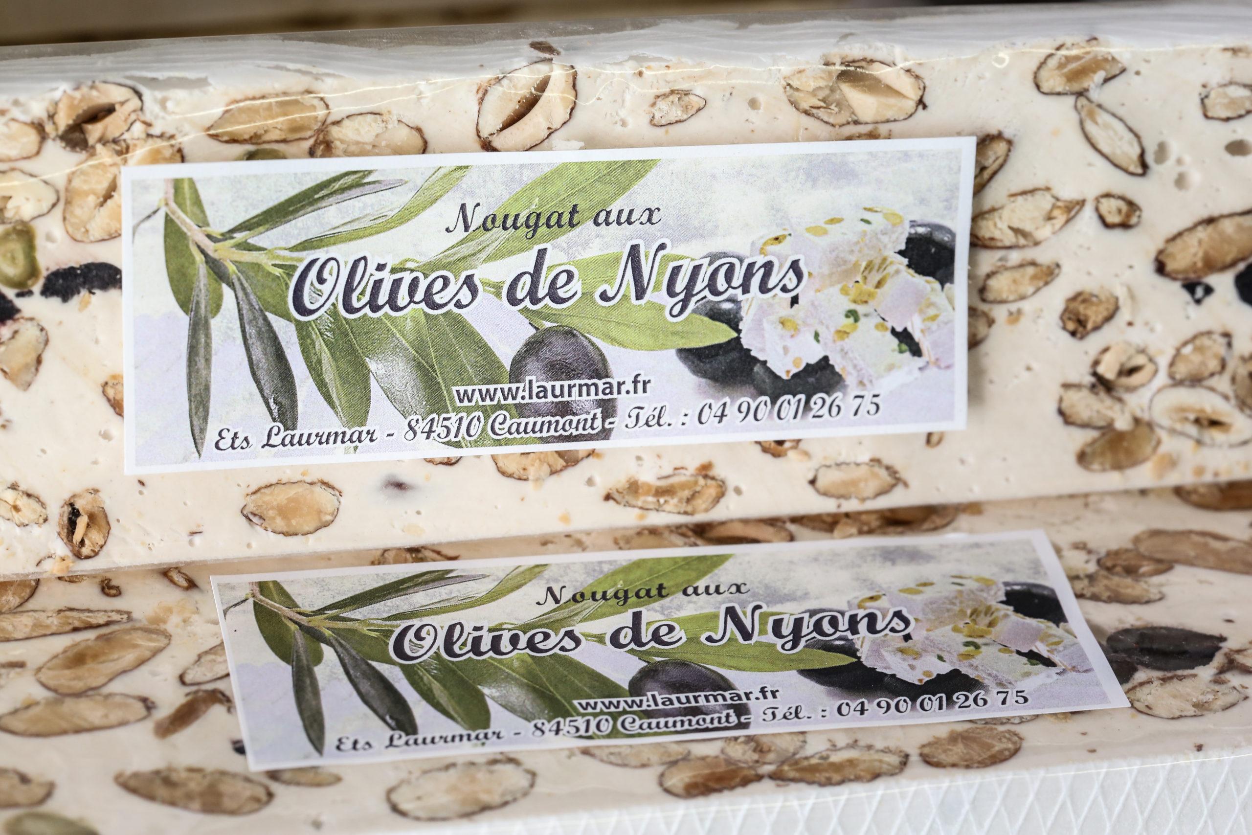 nougat-olive_nyons_aop - Nougat tendre de qualité en fabrication artisanal