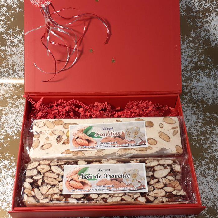 Coffret nougat - Nougat de Montelimar - Prix du nougat au kilo